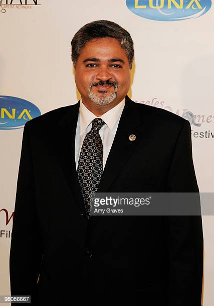 Amyn Rahimtoola attends the Los Angeles Women's International Film Festival Opening Night Gala at Libertine on March 26 2010 in Los Angeles California