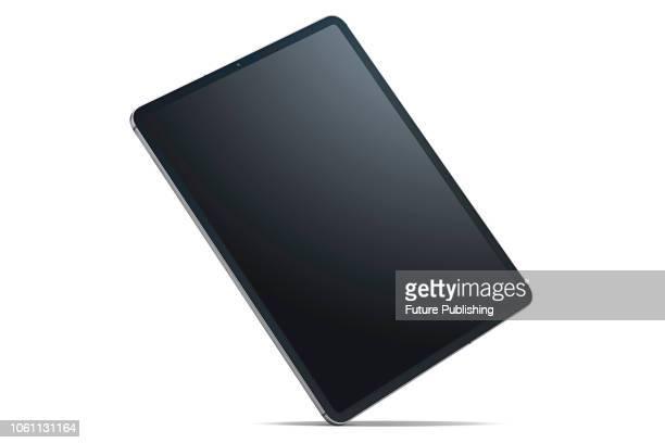 An 11-inch Apple iPad Pro 2018 tablet computer, taken on November 7, 2018.