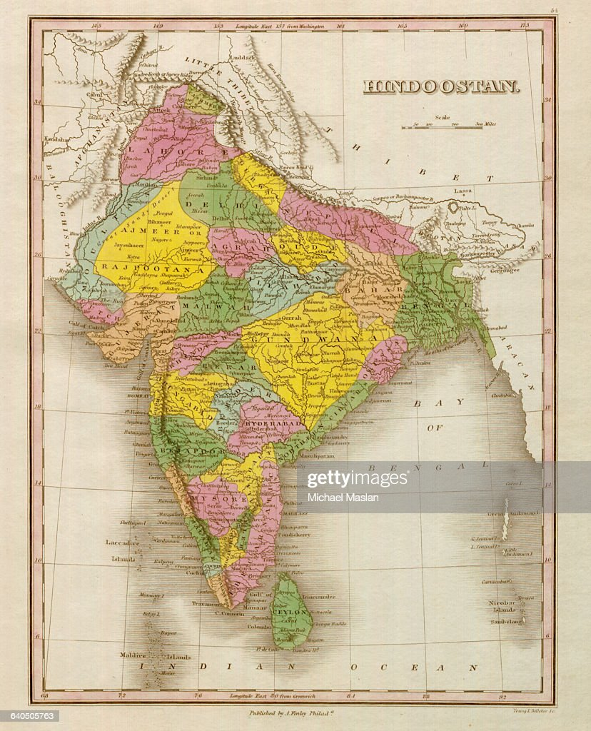 An 1826 map of Hindoostan, present day India, shows district... News India Present Map on present africa map, present islam religion map, present canada map, present turkey map, present world map, present vietnam map, present china map, present greece map, present europe map, present egypt map,