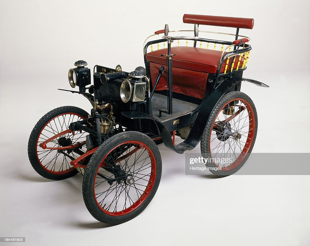 An 1899 Renault 1.75hp. Pictures | Getty Images