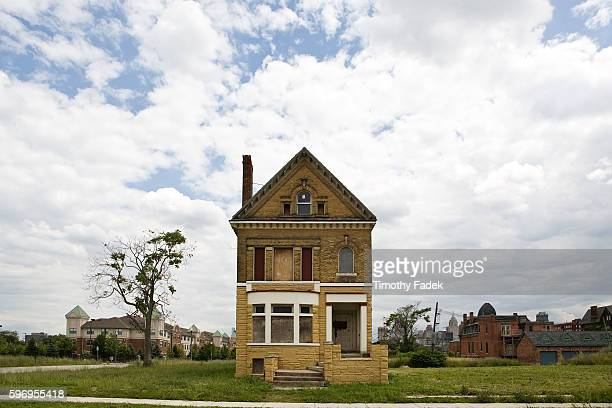 An abandoned house The decadeslong decline of the US automobile industry is acutely reflected in the urban decay of Detroit the city once lovingly...