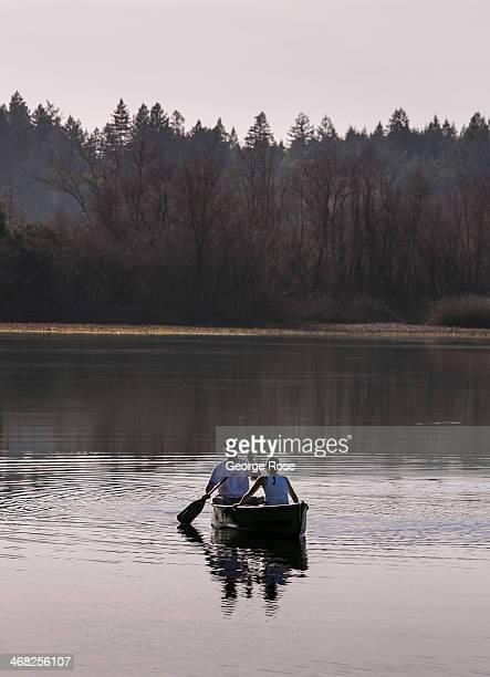 An abandoned rock quarry converted to a water storage lake, located adjacent to the Russian River in Riverfront Regional Park, proves to be a great...