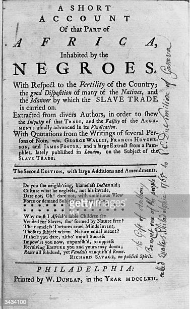 An abolitionist pamphlet published in Boston
