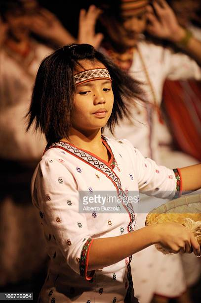 An aboriginal of the Taroqo tribe performs a traditional dance in the remote Leader Village. The Taroqo's dance is one of the most traditional among...