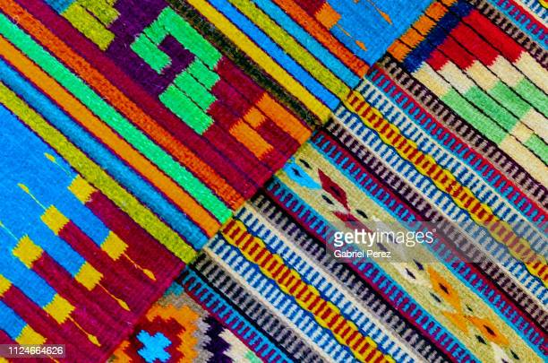 An Abstract Contrast in Mexican Textiles