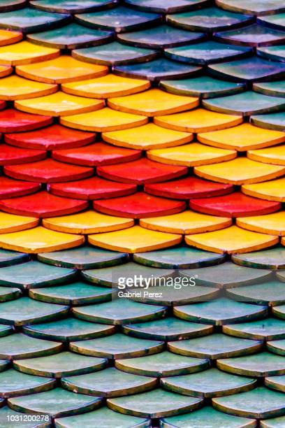 an abstract of colors - grand palace - bangkok stock pictures, royalty-free photos & images