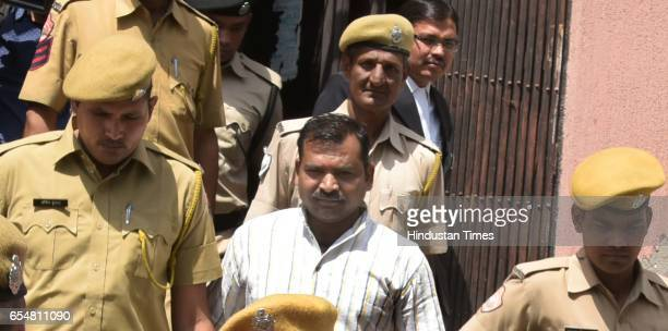 An accused Devendra Gupta convicted in the Ajmer blast case come out after the court deferred the sentencing till 22nd of this month on March 18 2017...