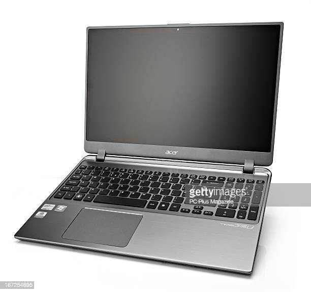 An Acer Timeline U M5 581TG laptop photographed during a studio shoot for PC Gamer Magazine/Future via Getty Images August 17 2012