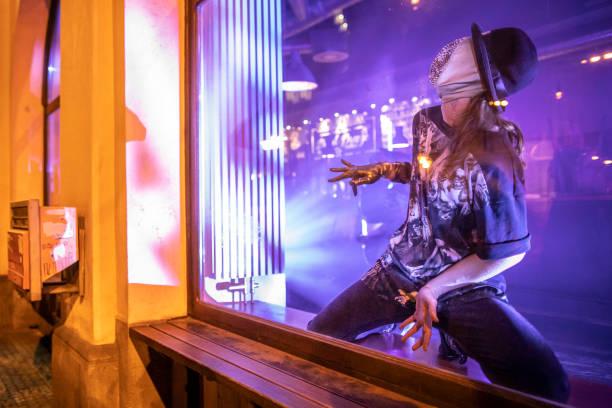 CZE: Artists Of Cirk La Putyka Troupe Perform In Revived Shop Windows