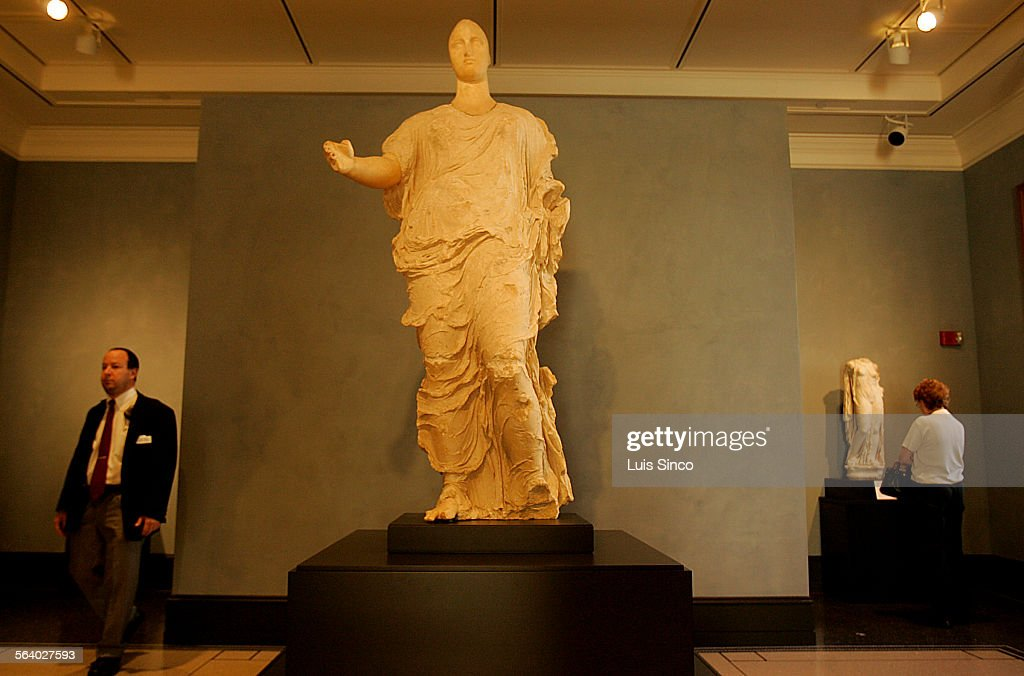 An Acrolithic Statue Of The Greek Goddess Aphrodite Is The