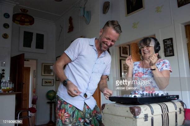 An active senior learns to DJ