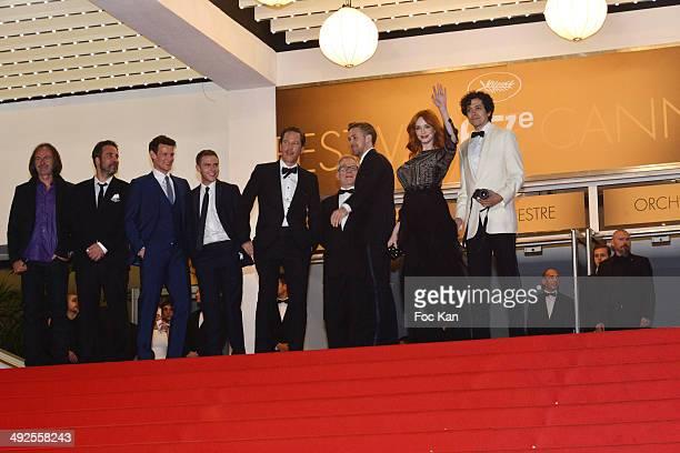 AY 20 An actor Adam Siegel Matt Smith Iain De Caestecker Reda Kateb Ryan Gosling Christina Hendricks and Geoffrey Arend attend the 'Lost River'...