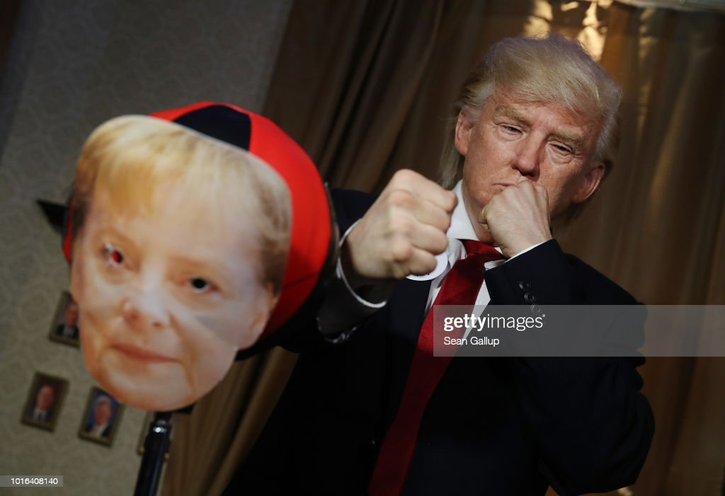 Donald Trump Silicon Mask Live Presentation At Madame Tussauds