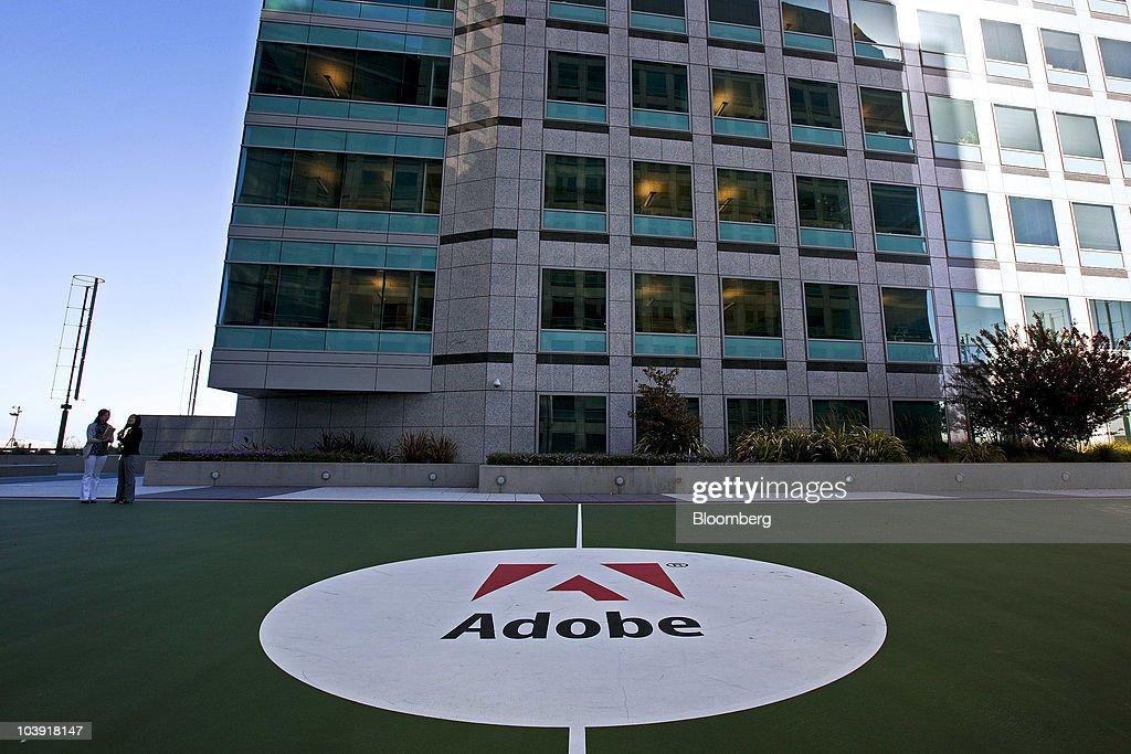 Adobe Systems Inc. Headquarters Campus : News Photo