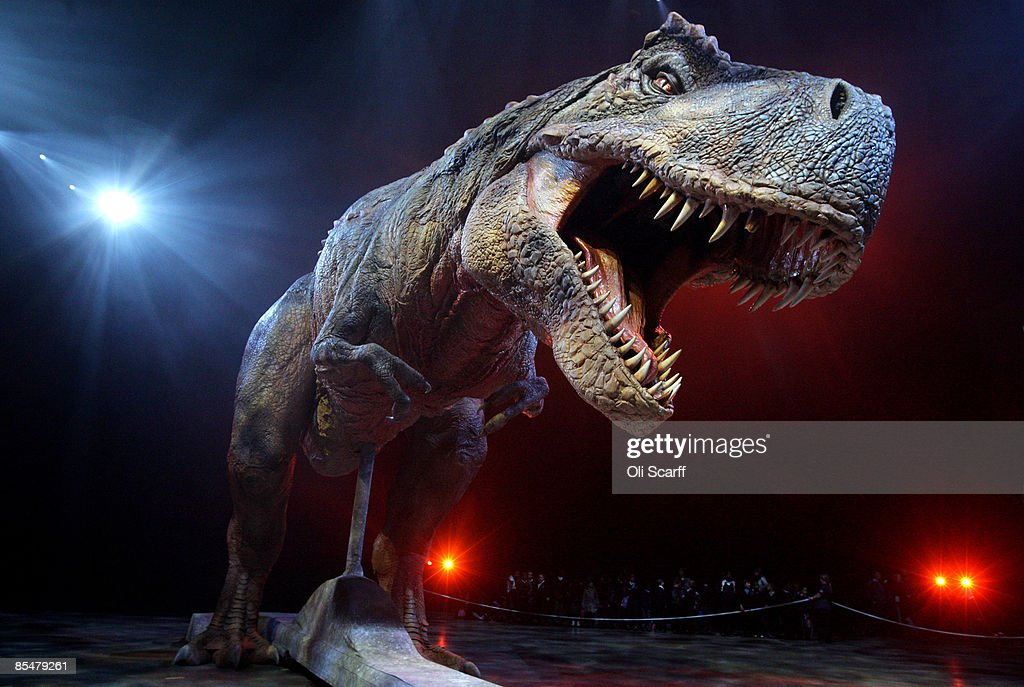 Walking With Dinosaurs Spectacular Launches At The O2 Arena : News Photo