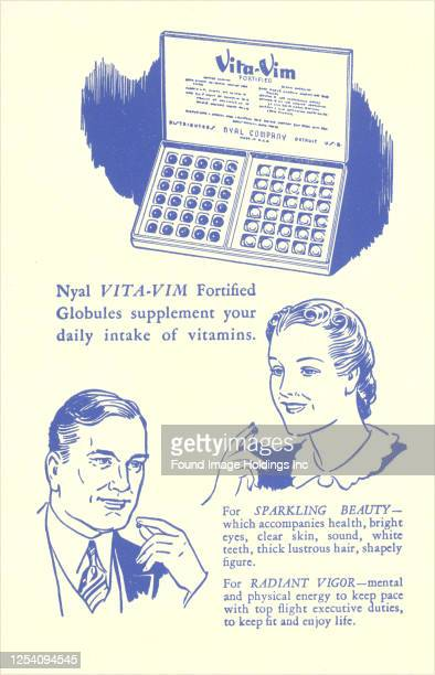 An advert for vitamin supplements.