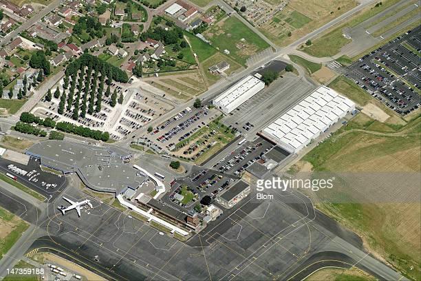An aerial image of Beauvais Airport, Beauvais