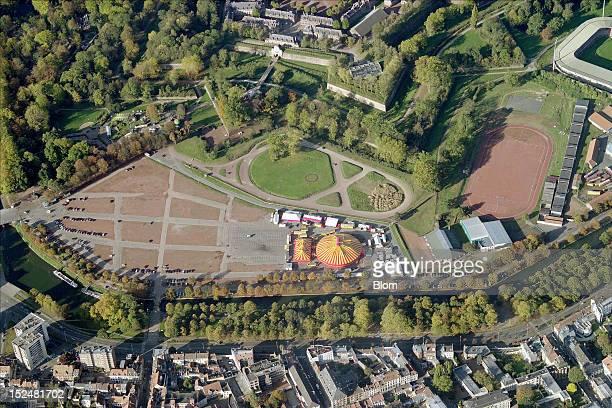 An aerial image of Bois De Boulogne Lille