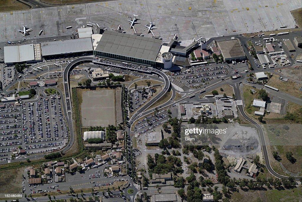 An aerial image of Catania-Fontanarosa Airport, Catania ...