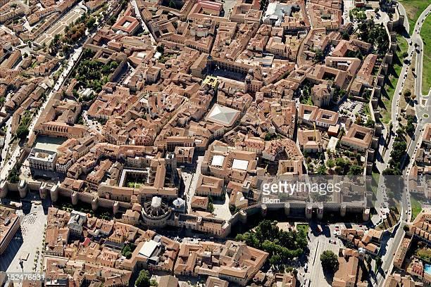 An aerial image of City Center avila