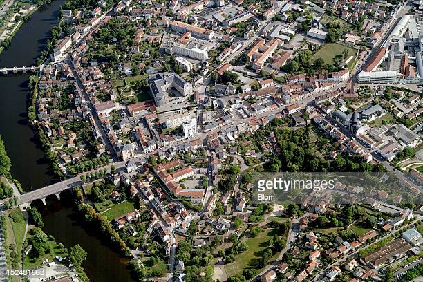 An aerial image of City Center Limoges