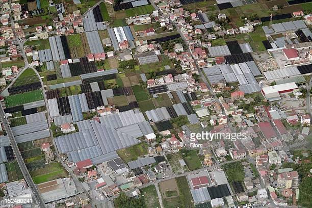 An aerial image of City Center Santa Maria la Carita