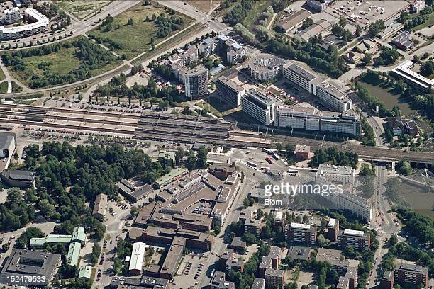 An aerial image of City Center Vantaa