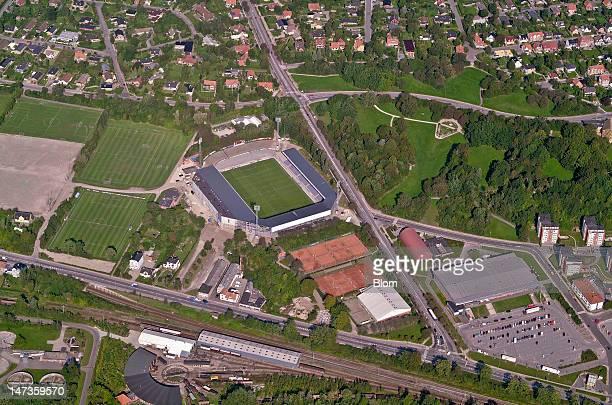 An Aerial image of Essex Park Randers Randers