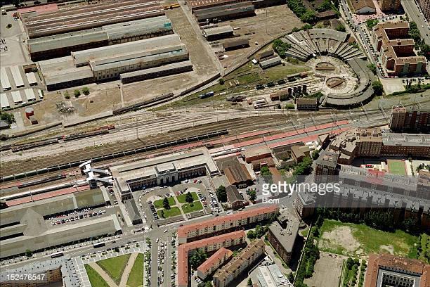 An aerial image of Estacion De Tren Valladolid - Campo Grande, Valladolid