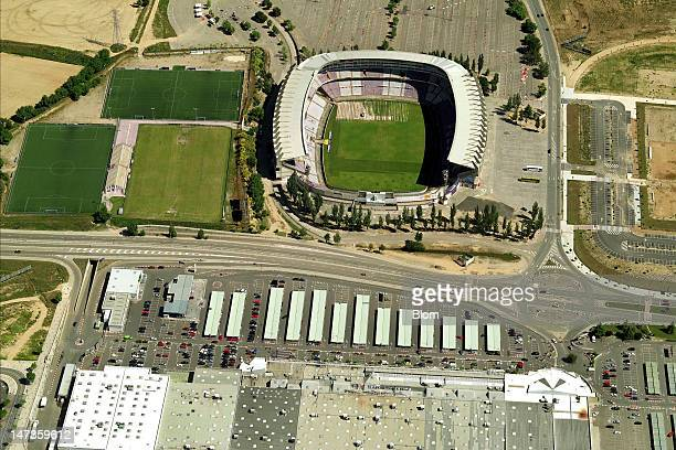 An Aerial image of Estadio José Zorrilla, Valladolid