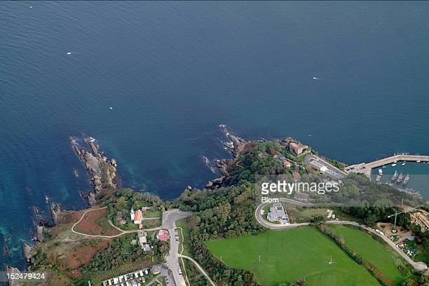 An aerial image of Outskirts, Hondarribia