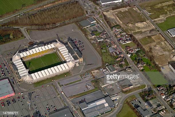 An Aerial image of Parkstad Limburg Stadion, Kerkrade
