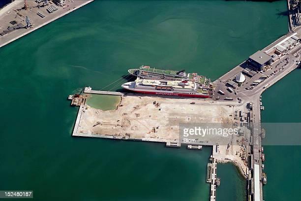 An aerial image of Port Of Bari Bari
