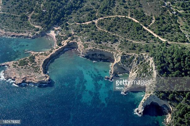 An aerial image of Roca Llisa Ibiza