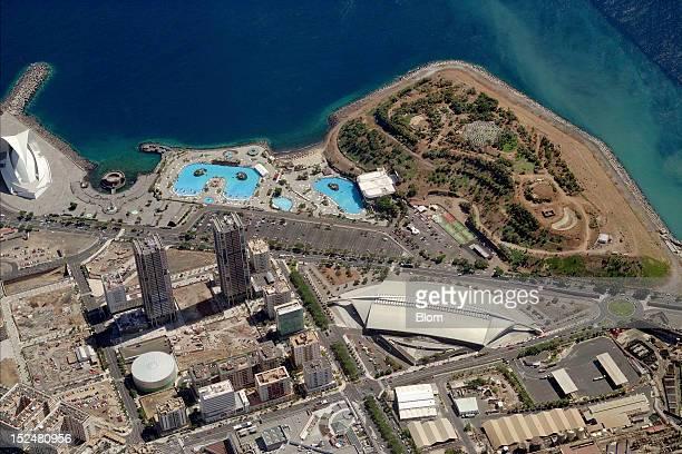 An aerial image of SPET Turismo De Tenerife Santa Cruz De Tenerife