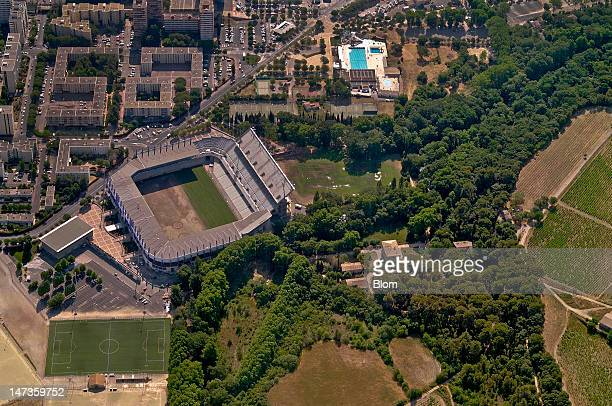 An Aerial image of Stade de la Mosson Montpellier