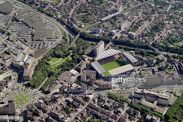 An Aerial image of StadeduPaysdeCharleroi Charleroi