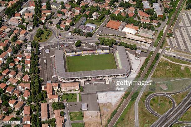 An Aerial image of Stadio Dino Manuzzi Cesena