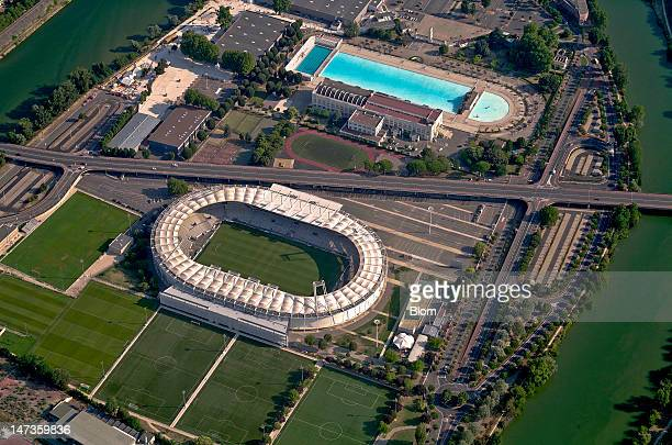 An Aerial image of Stadium Municipal de Toulouse Toulouse