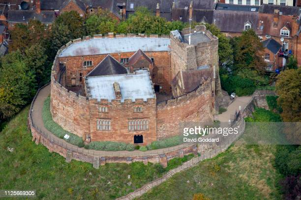 KINGDOM OCTOBER 2018 An aerial photograph of Tamworth Castle on October 1st 2018 This grade 1 listed Norman castle is located on the southern edge of...