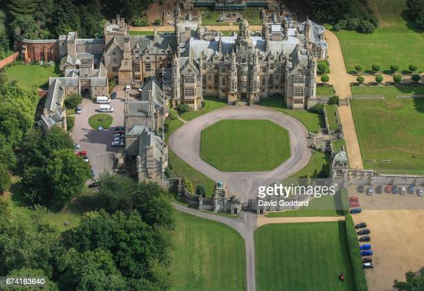 KINGDOM OCTOBER 20 An aerial photograph of the Grade I isted Harlaxton Manor on October 20 2010 This original Jacobean manor house was built in 1837...