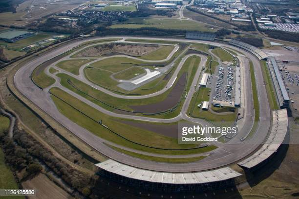 KINGDOM, MARCH, 2018. An aerial photograph of the Rockingham Motor... News Photo | Getty Images