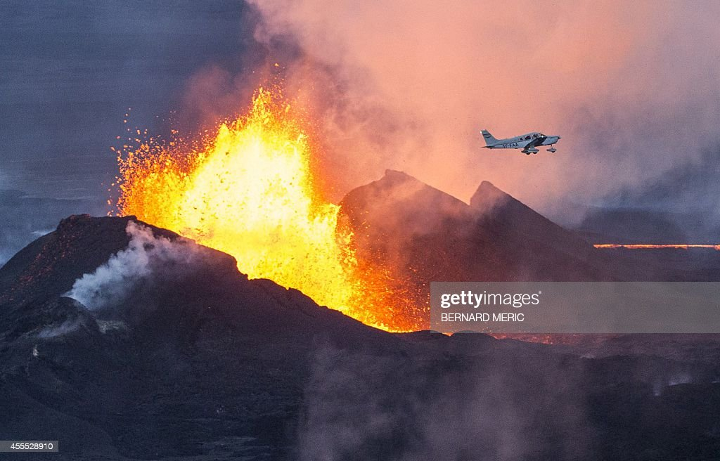 ICELAND-VOLCANO-BARDABUNGA : News Photo