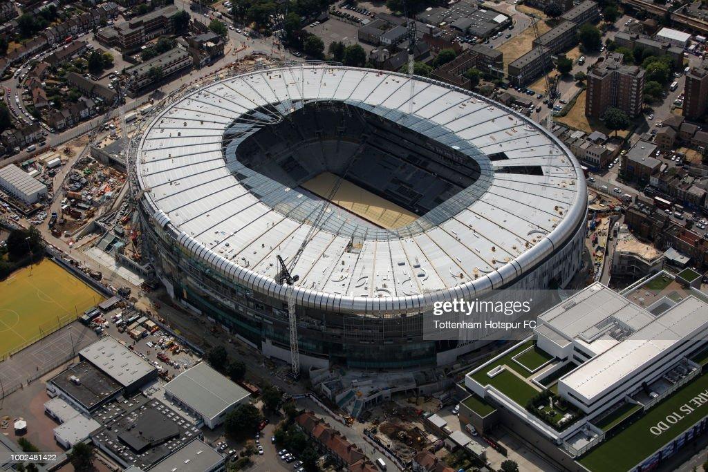 Work Continues On Tottenham Hotspur's New Stadium : News Photo