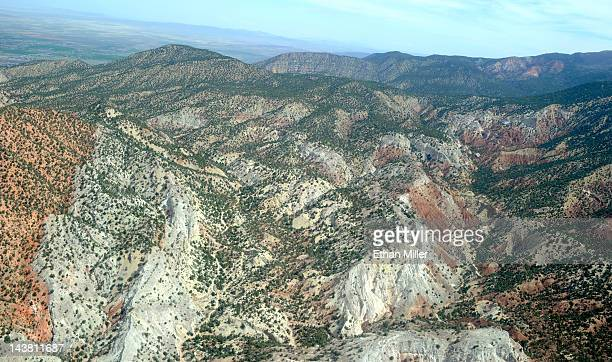 An aerial view near Strawberry Valley May 2 2012 near Bryce Canyon National Park in Kane County Utah The US Bureau of Land Management has tentatively...