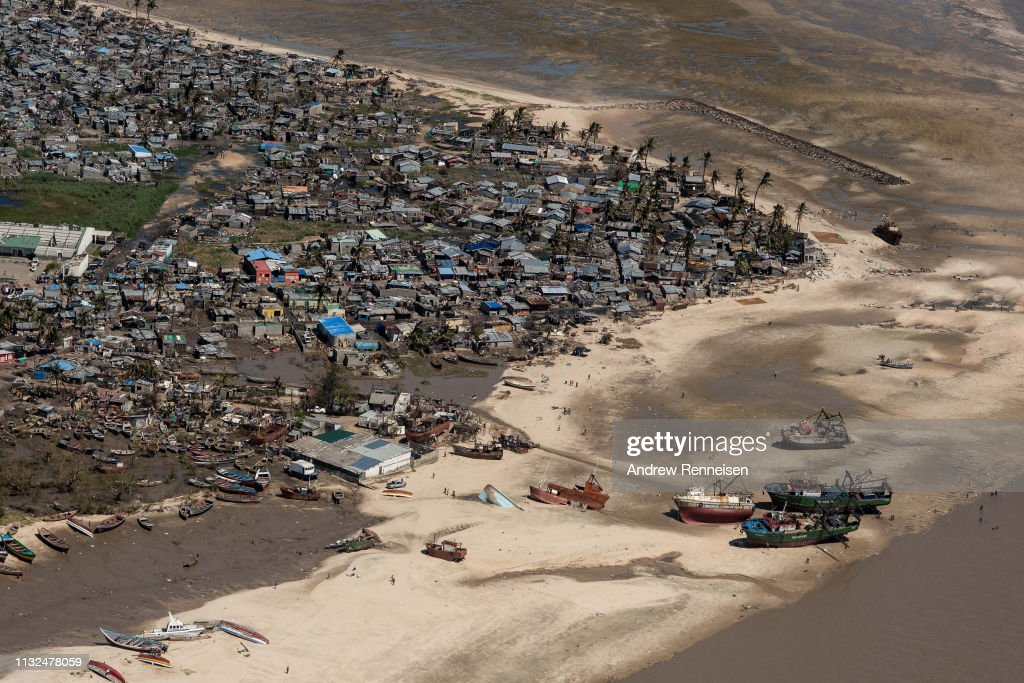 Mozambique Copes With Aftermath Of Cyclone Idai : News Photo