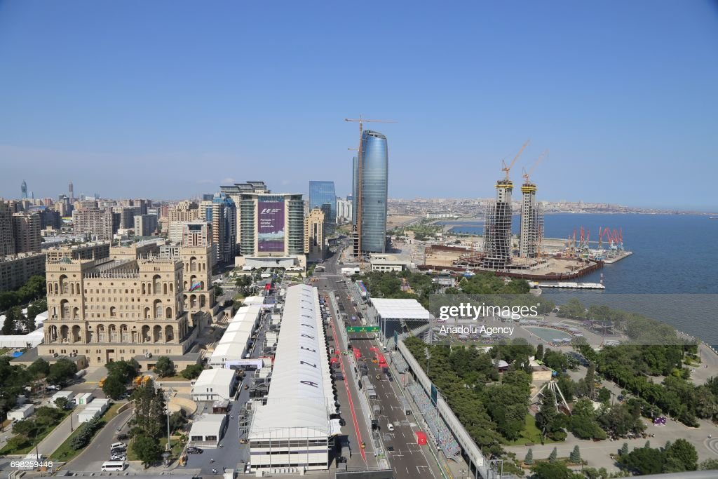Ahead of 2017 Formula 1 Azerbaijan Grand Prix : News Photo