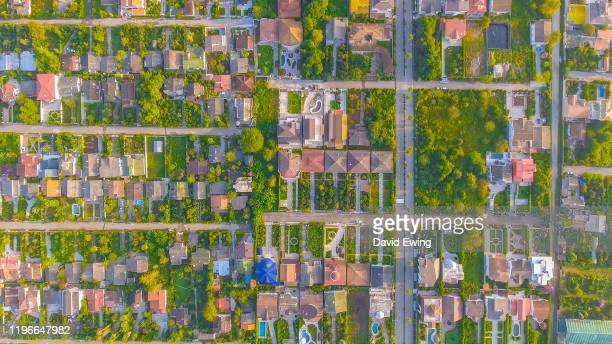 an aerial view of a wealthy suburb in northern iran - david ewing stock pictures, royalty-free photos & images