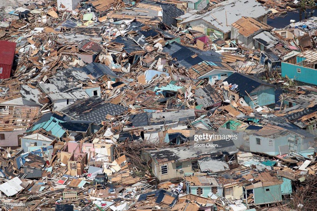Bahamas Relief Effort Begins in Wake of Dorian Destruction : News Photo
