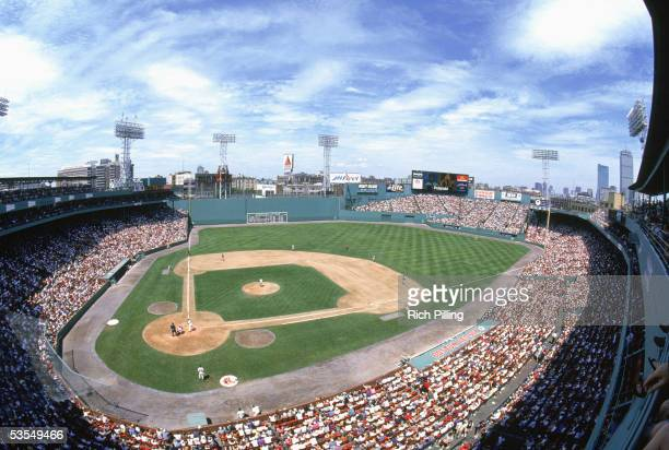 An Aerial View of Fenway Park on July 13 1997 in Boston Massachusetts